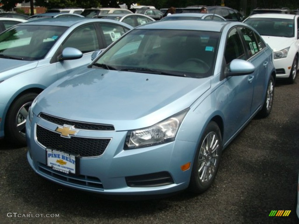 2011 Ice Blue Metallic Chevrolet Cruze ECO #50648731 ...