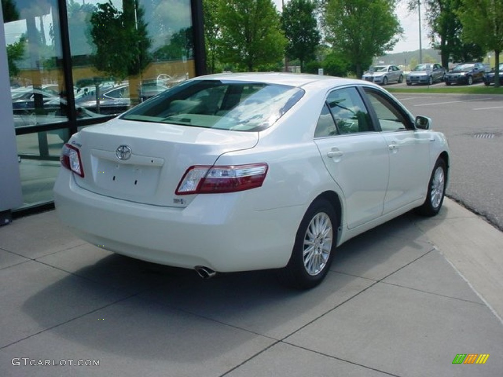 toyota camry 2007 white. 2007 camry hybrid super white bisque photo 2 toyota