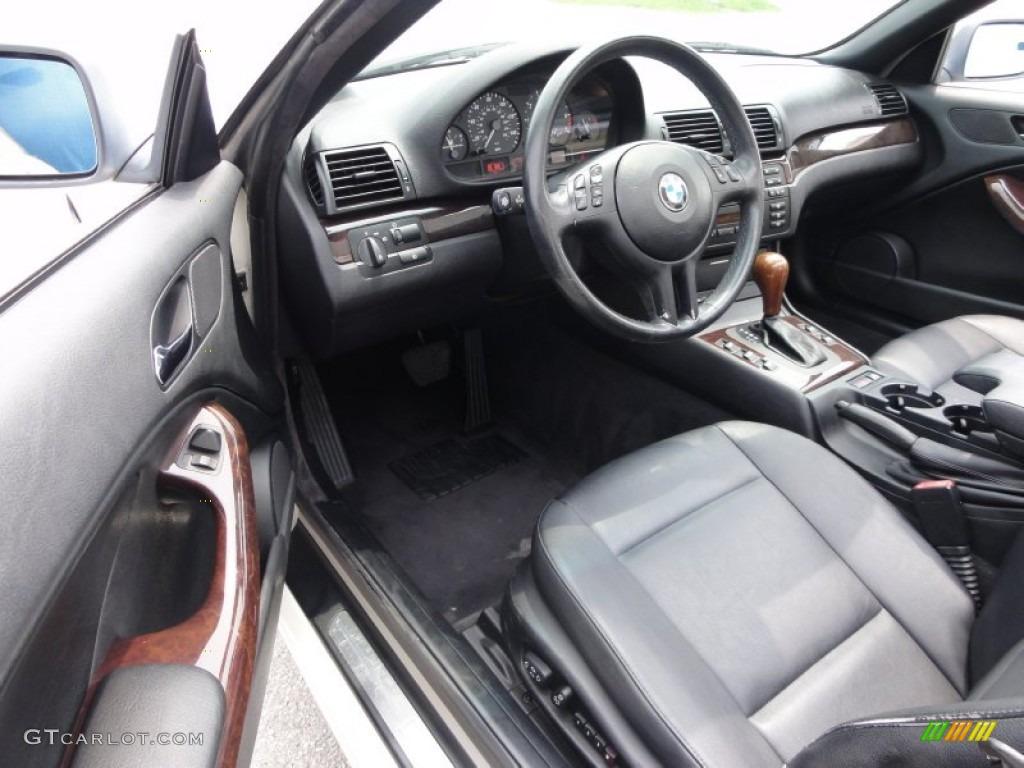 Black Interior 2000 BMW 3 Series 323i Convertible Photo 50675495