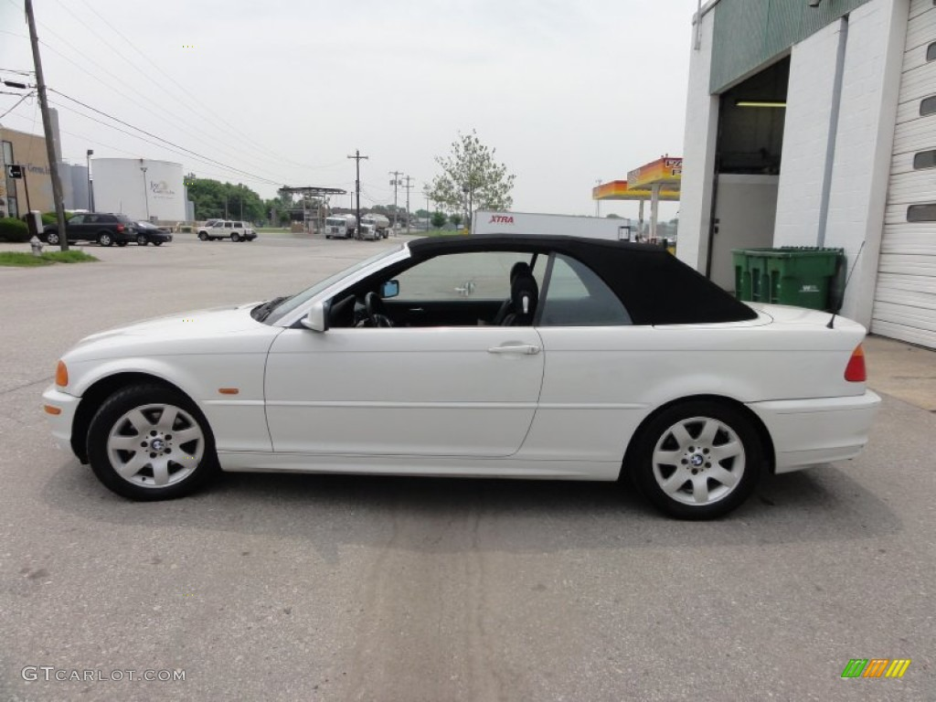 alpine white 2000 bmw 3 series 323i convertible exterior. Black Bedroom Furniture Sets. Home Design Ideas