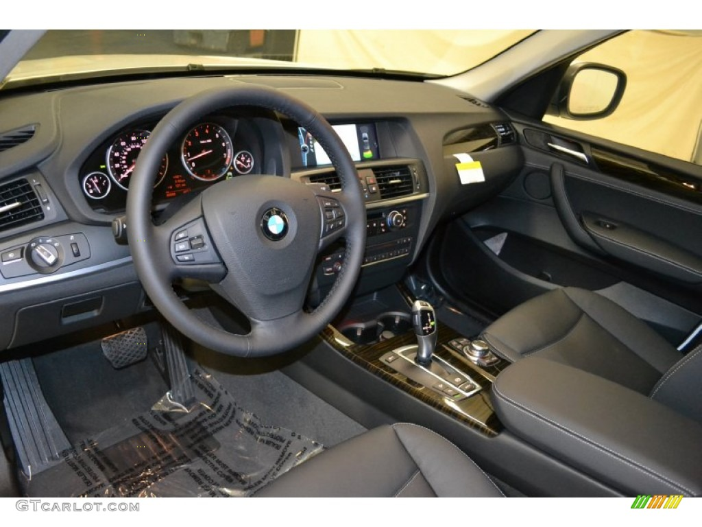 Black Interior 2011 Bmw X3 Xdrive 28i Photo 50676335