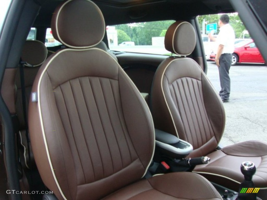 Lounge Hot Chocolate Interior 2008 Mini Cooper S Clubman