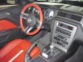 2012 Ford Mustang Brick Red/Cashmere Interior Dashboard Photo