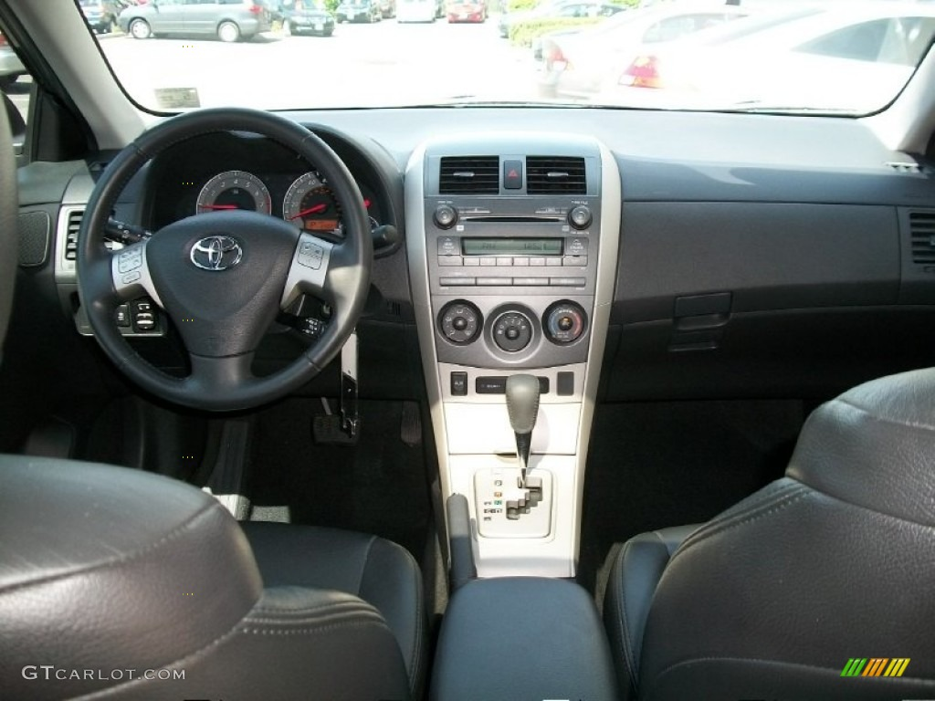 2009 Toyota Corolla Xrs Dark Charcoal Dashboard Photo