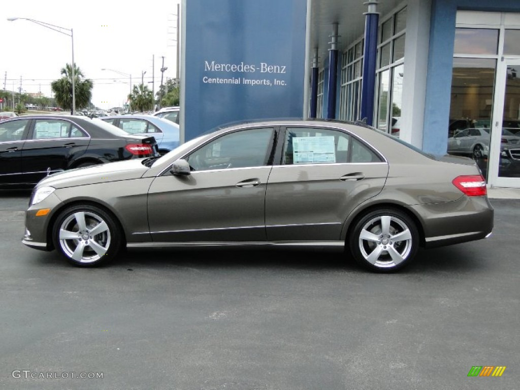 2011 Indium Grey Metallic Mercedes Benz E 350 Sedan