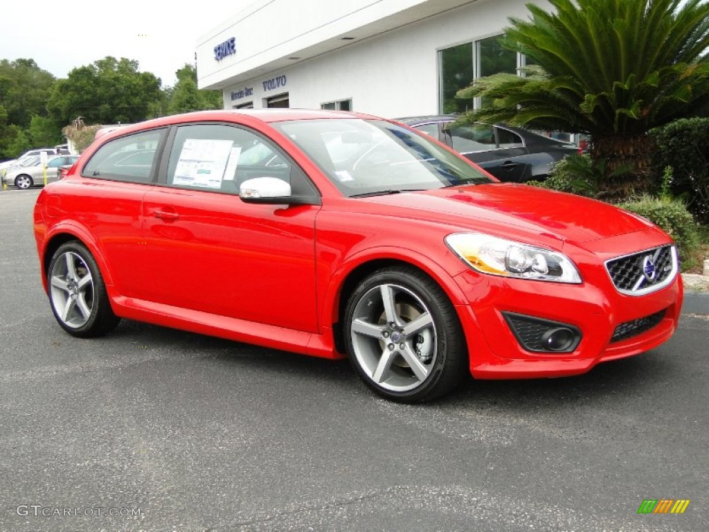 passion red 2011 volvo c30 t5 exterior photo 50707723. Black Bedroom Furniture Sets. Home Design Ideas