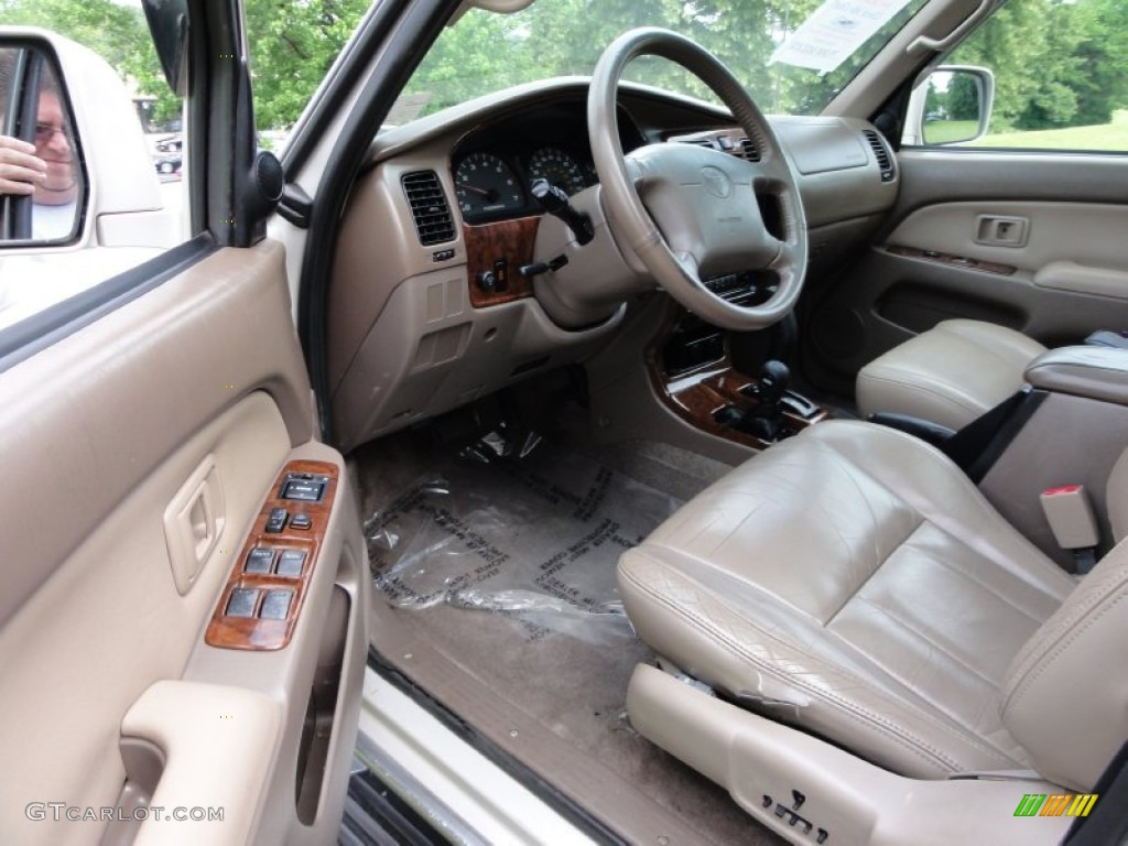 Oak Interior 1999 Toyota 4runner Limited 4x4 Photo 50710099