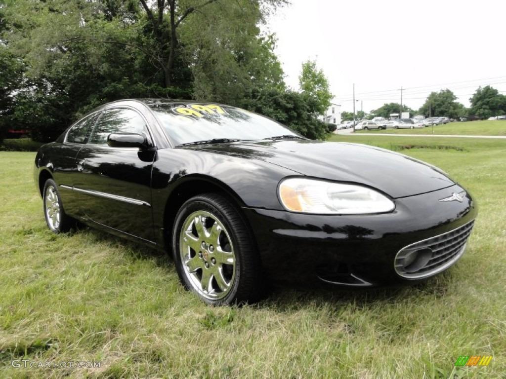 Black 2001 Chrysler Sebring Lxi Coupe Exterior Photo