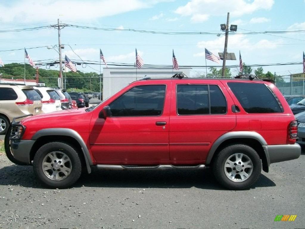 Cayenne Red 2000 Nissan Pathfinder Se 4x4 Exterior Photo