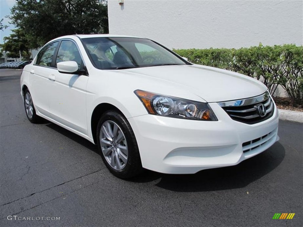 2011 White Diamond Pearl Honda Accord Ex L Sedan 50690320