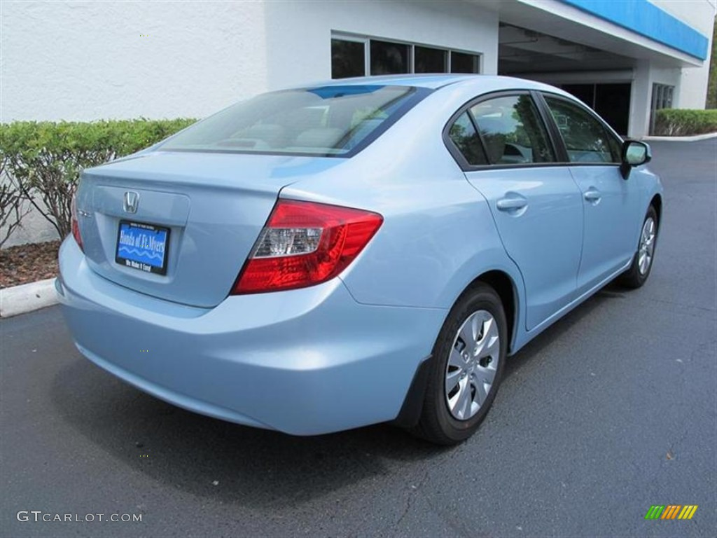 2012 cool mist metallic honda civic lx sedan 50690325 for Cool honda civic