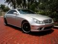 Iridium Silver Metallic 2008 Mercedes-Benz CLS 63 AMG
