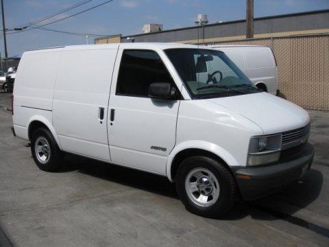 2001 Chevrolet Astro Commercial Van Data, Info and Specs