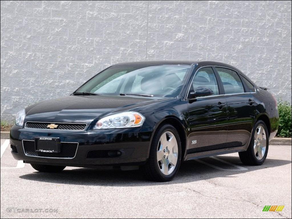 2009 Black Chevrolet Impala SS #50690520