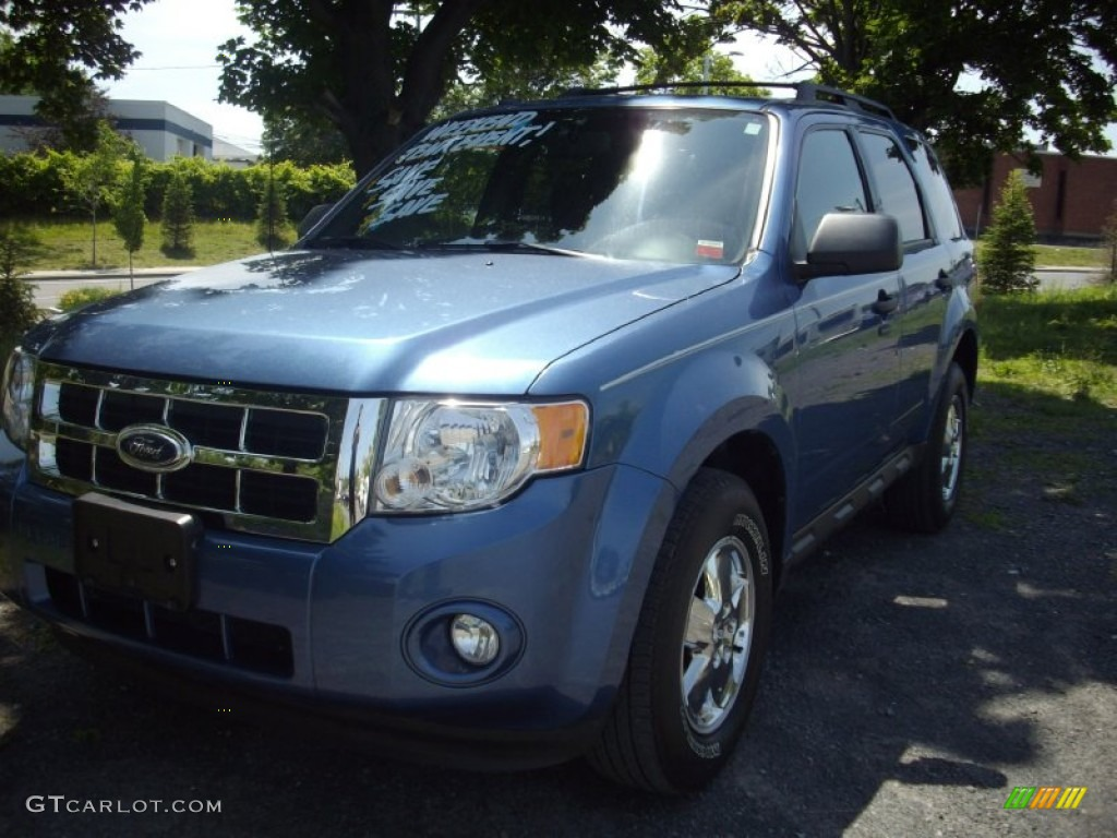 2009 Escape XLT 4WD - Sport Blue Metallic / Charcoal photo #1