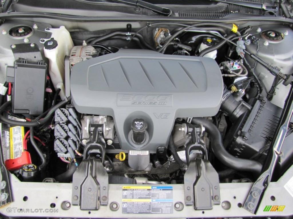 2008 Pontiac Grand Prix Sedan 3 8 Liter Ohv 12v 3800