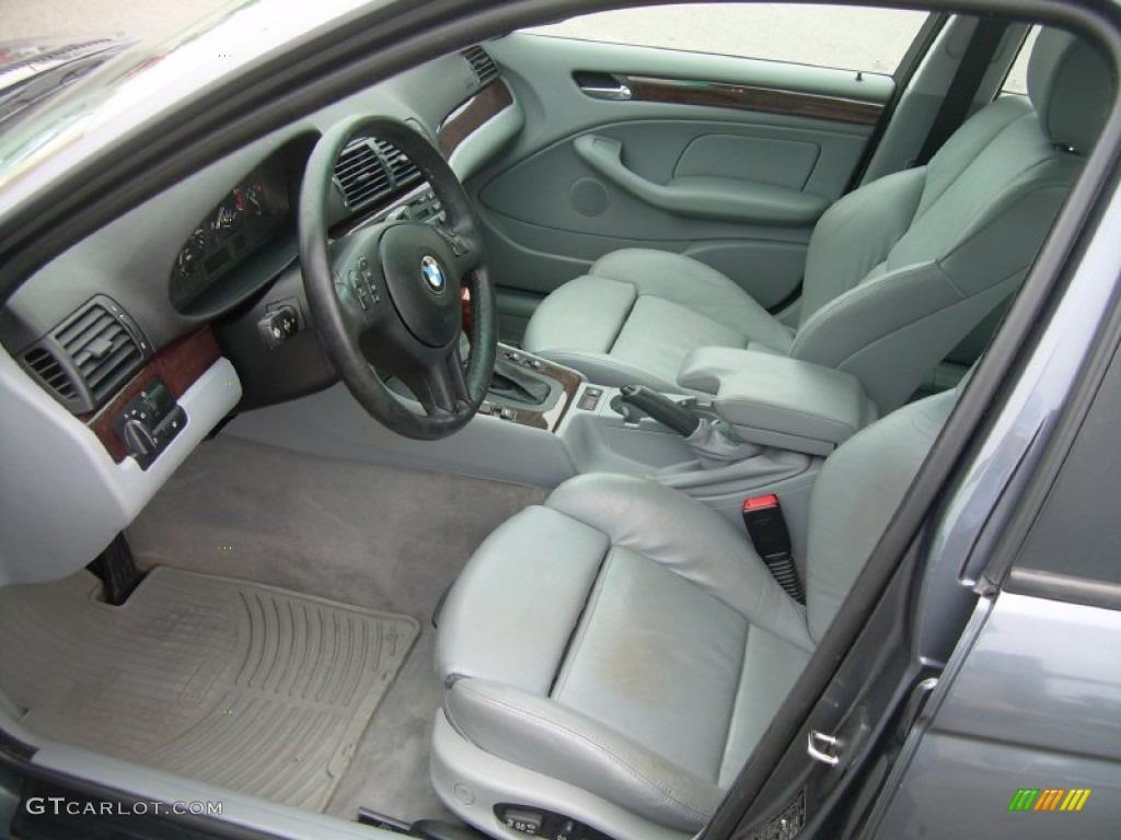Grey Interior 2001 Bmw 3 Series 325i Sedan Photo 50757651