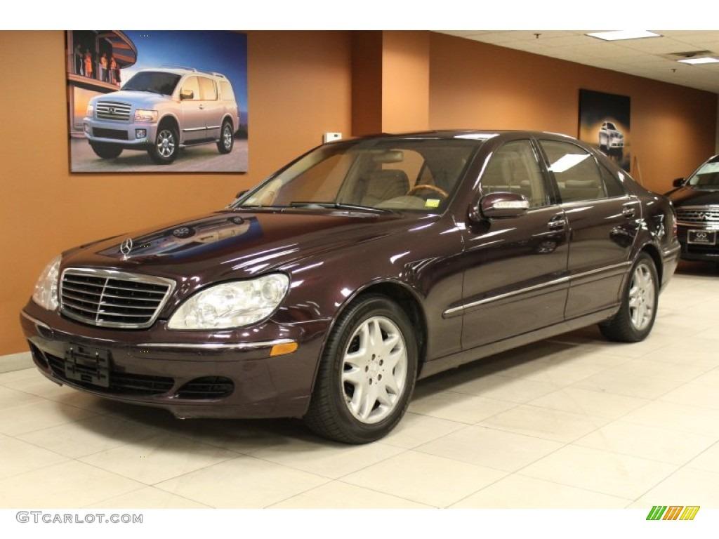 2003 almandine black metallic mercedes benz s 430 sedan for Mercedes benz s 430