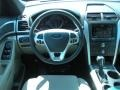 2011 White Suede Ford Explorer XLT  photo #8