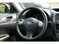 Carbon Black Steering Wheel Photo for 2008 Subaru Impreza #50771055