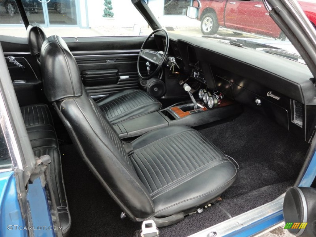 1969 Chevrolet Camaro Ss Convertible Interior Photo