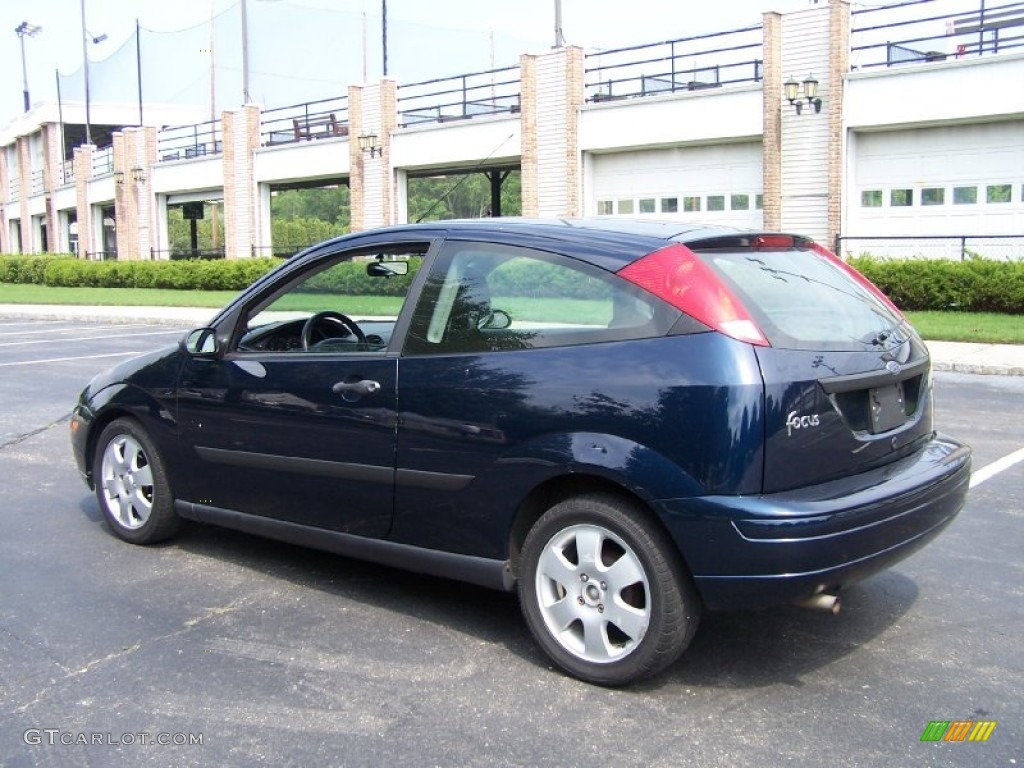 twilight blue metallic 2002 ford focus zx3 coupe exterior. Black Bedroom Furniture Sets. Home Design Ideas