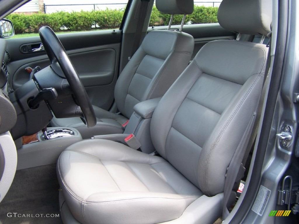 Grey Interior 2002 Volkswagen Passat Glx Sedan Photo 50776680