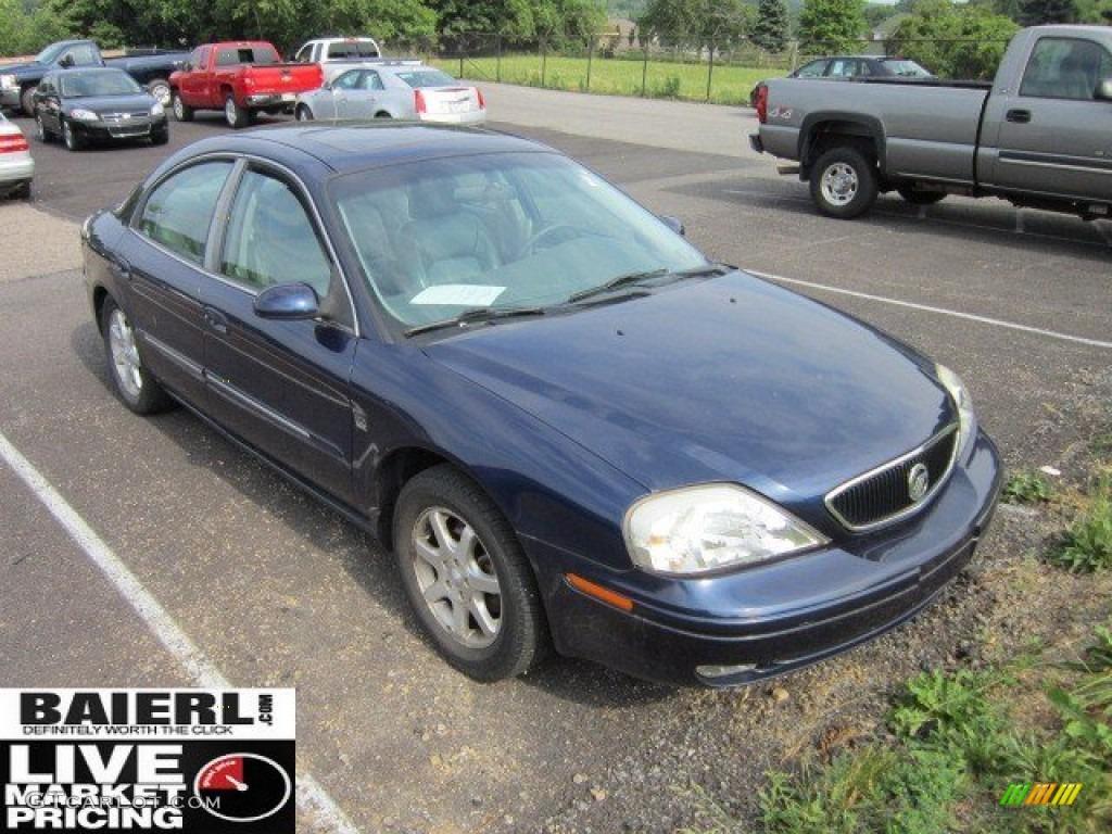 2000 Sable LS Premium Sedan - Graphite Blue Metallic / Medium Graphite photo #1