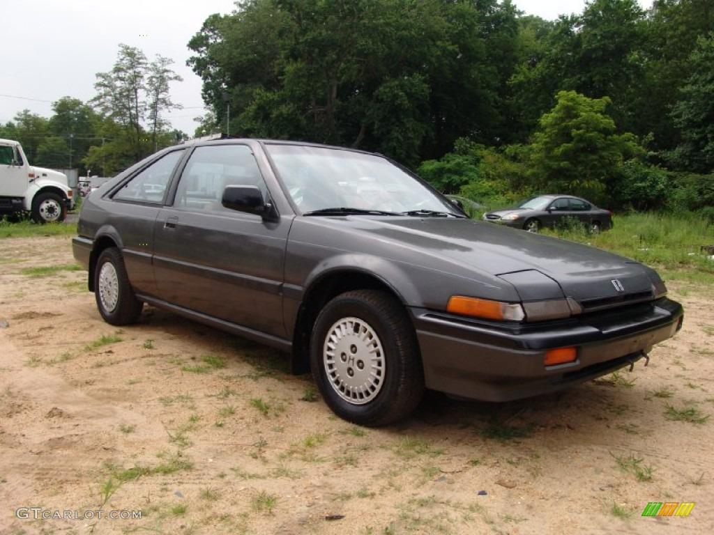 1986 graphite gray metallic honda accord lxi hatchback for Grey honda accord