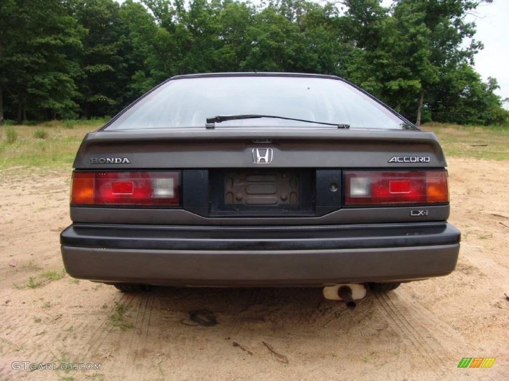 Graphite gray metallic 1986 honda accord lxi hatchback exterior photo 50781042 gtcarlot com
