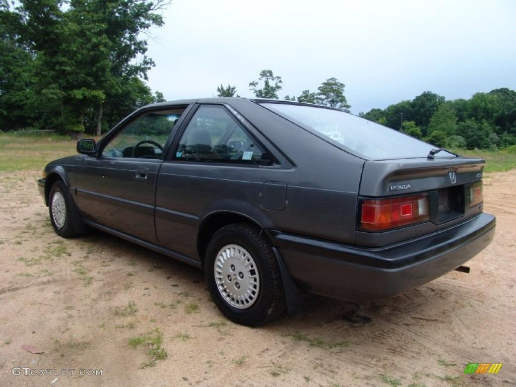 Graphite gray metallic 1986 honda accord lxi hatchback exterior photo 50781057 gtcarlot com