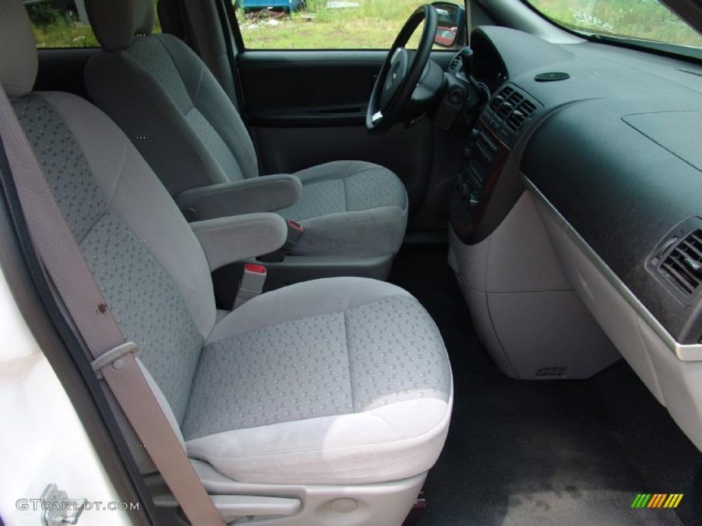 2007 Chevrolet Uplander Standard Uplander Model Interior