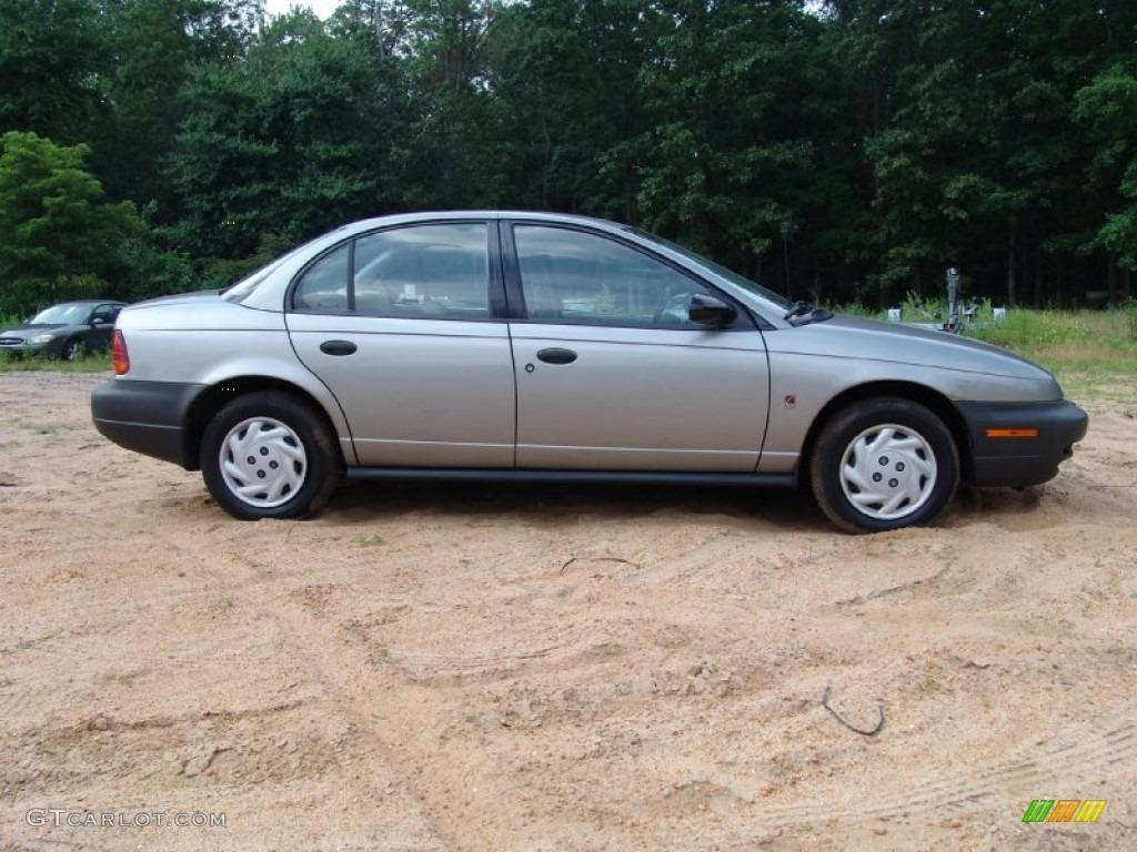Silver 1997 saturn s series sl sedan exterior photo 50781807