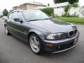 Steel Grey Metallic 2000 BMW 3 Series 323i Coupe