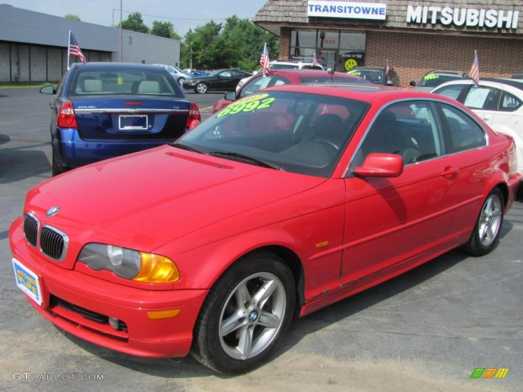 2002 Electric Red BMW 3 Series 325i Coupe #50769144 | GTCarLot.com ...