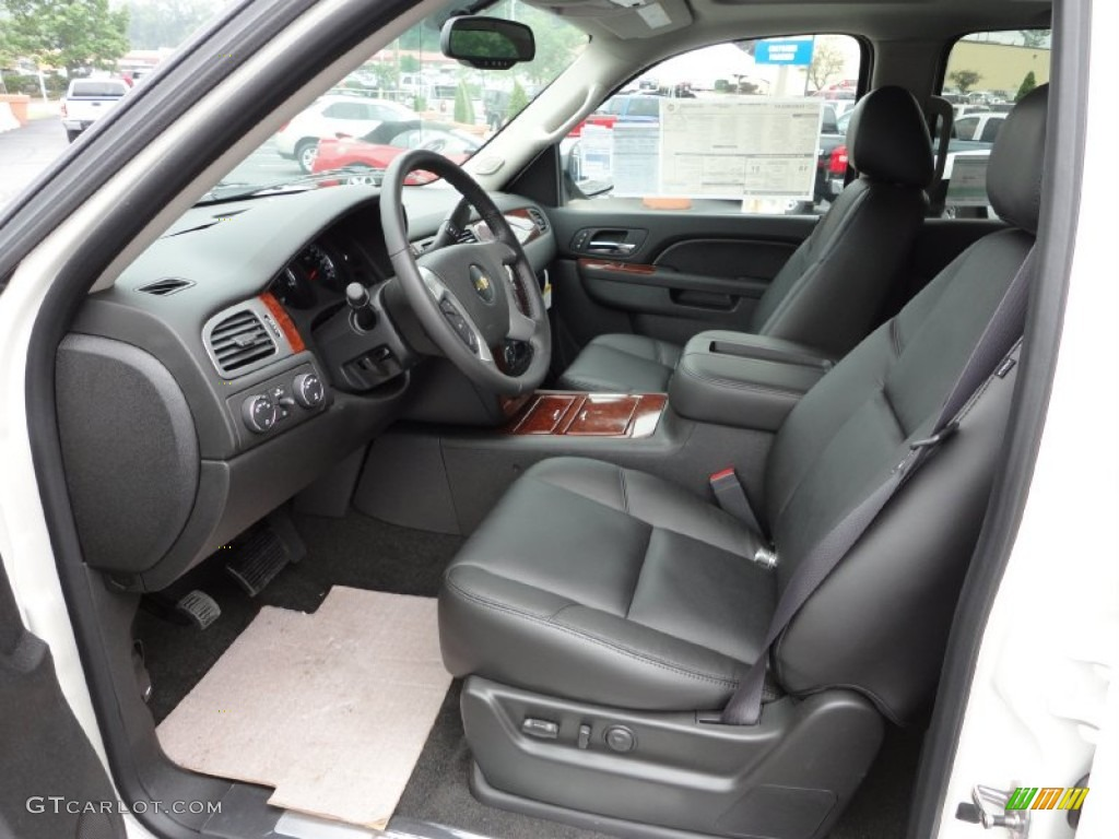 chevrolet avalanche interior ebony - photo #13