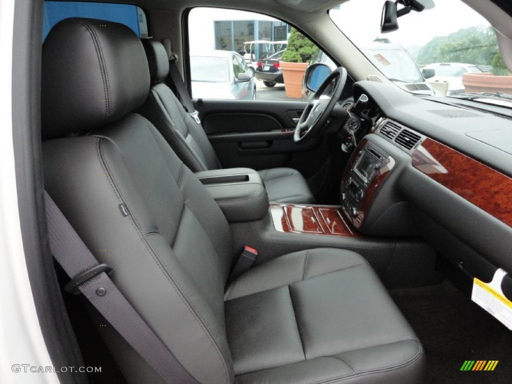 chevrolet avalanche interior ebony - photo #12