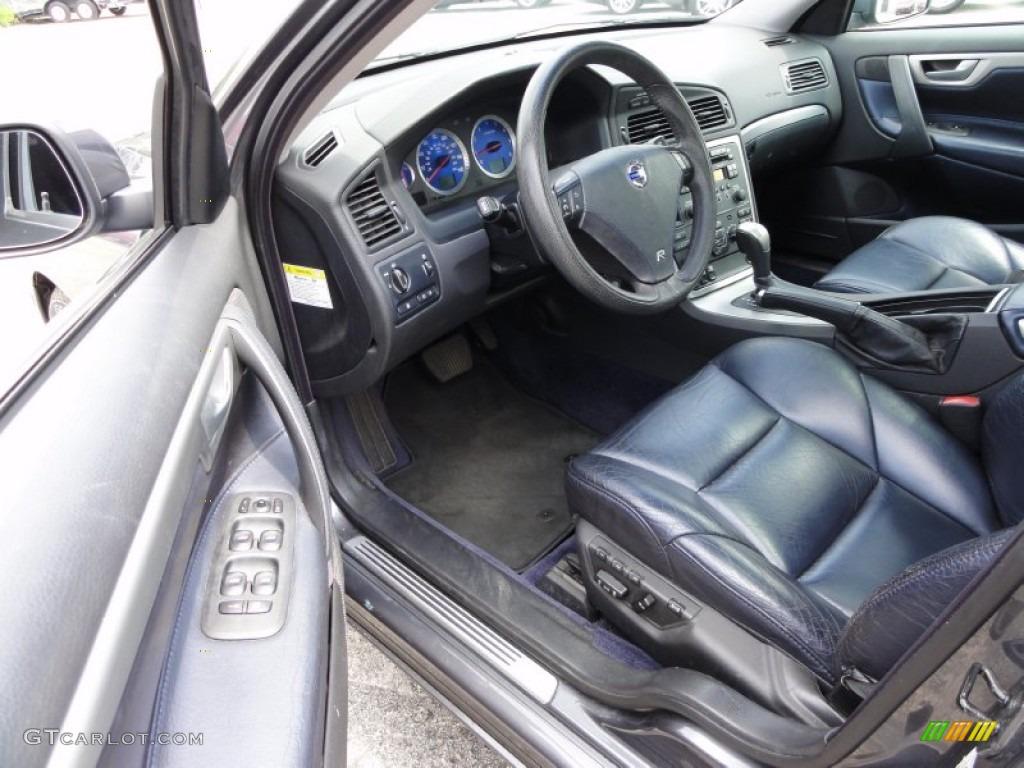 R Nordkap Black Blue Metallic Interior 2005 Volvo S60 R Awd Photo 50794458
