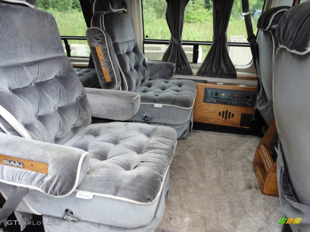 1992 Ford E Series Van E150 Passenger Conversion Interior Photo 50796306