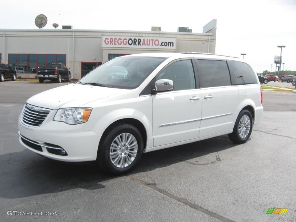 2011 stone white chrysler town country limited 50768987 for Stone s town country motors