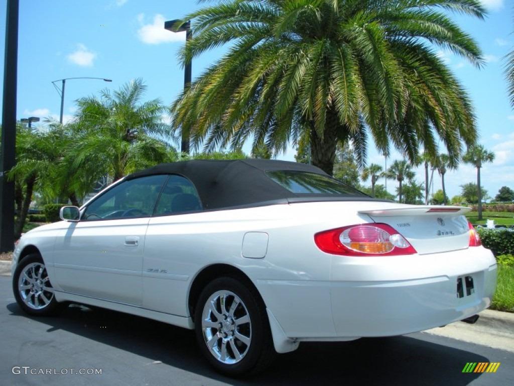 Diamond White Pearl 2003 Toyota Solara Sle V6 Convertible
