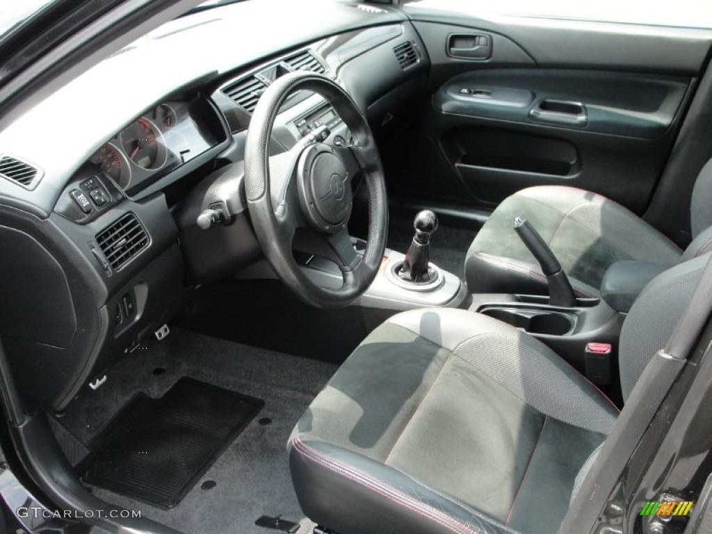 Black Alcantara Interior 2006 Mitsubishi Lancer Evolution Ix Se Photo 50797449