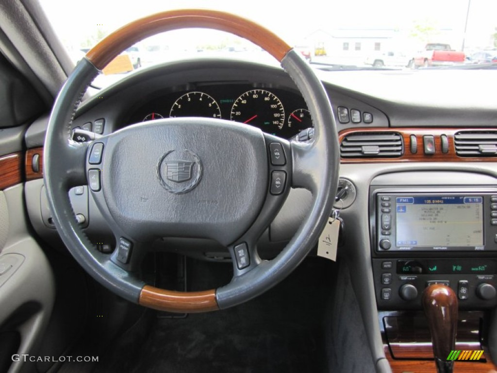 2002 Cadillac Seville Sts Neutral Shale Dashboard Photo