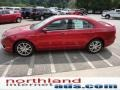 2011 Red Candy Metallic Ford Fusion SEL  photo #5