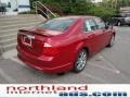 2011 Red Candy Metallic Ford Fusion SEL  photo #8