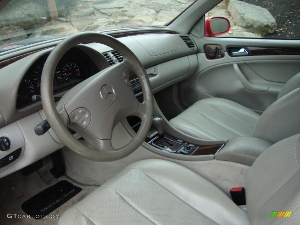 2000 mercedes-benz clk 320 cabriolet interior photo #50804223