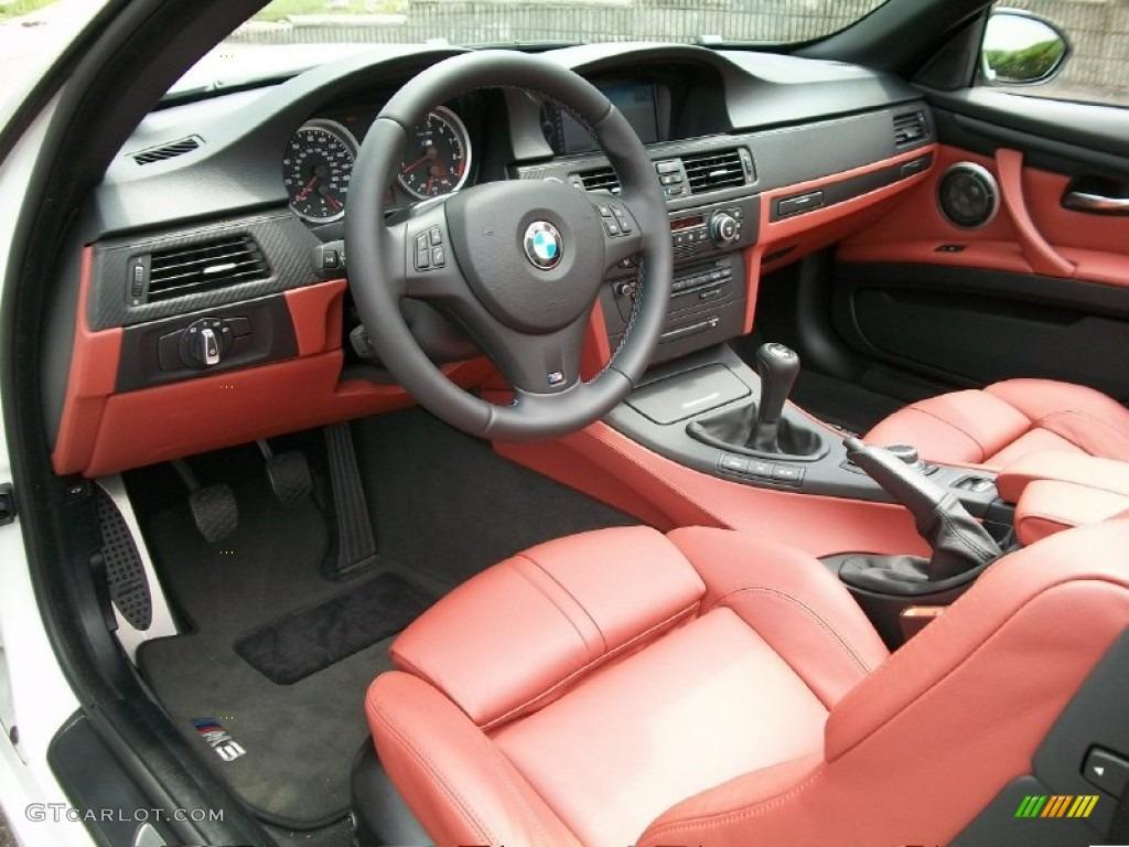 Fox Red Novillo Leather Interior 2009 Bmw M3 Convertible Photo 50807940