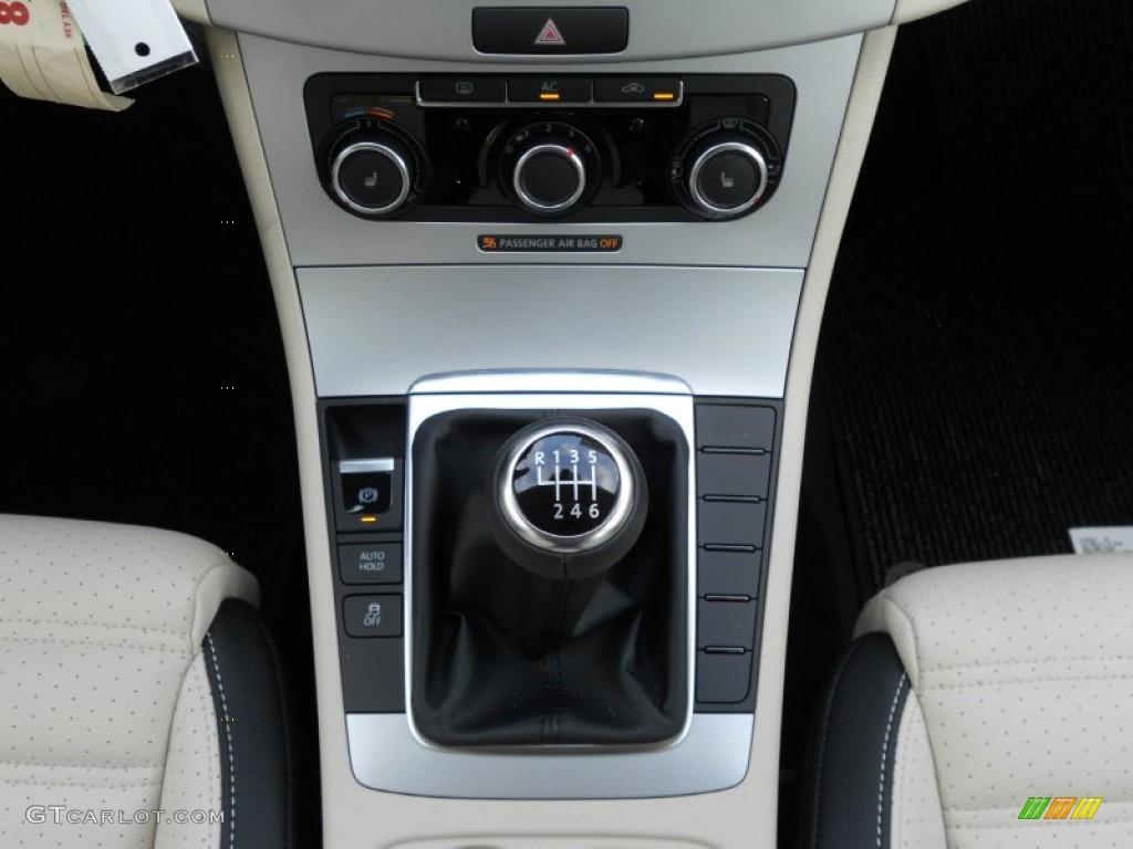 2012 Volkswagen CC Sport 6 Speed Manual Transmission Photo #50812293