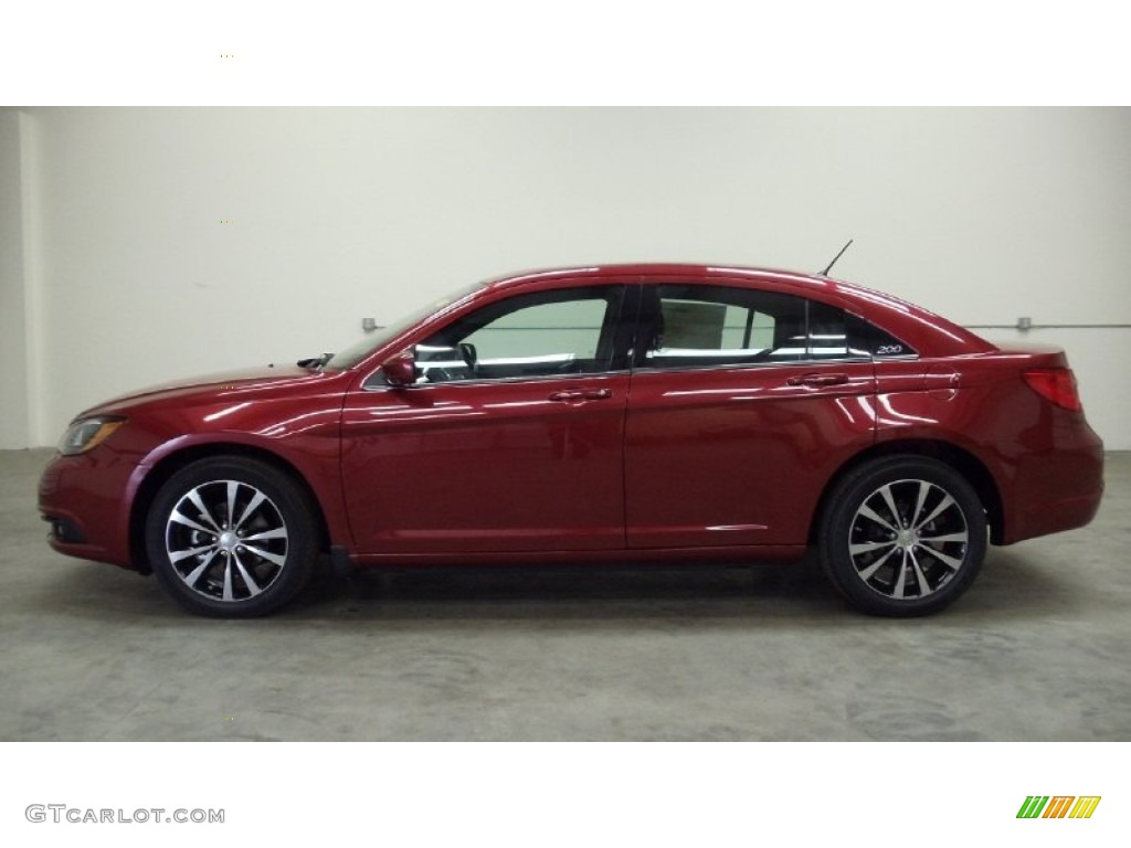 chrysler 200 2014 red. deep cherry red crystal pearl 2011 chrysler 200 s exterior photo 50814309 2014 r