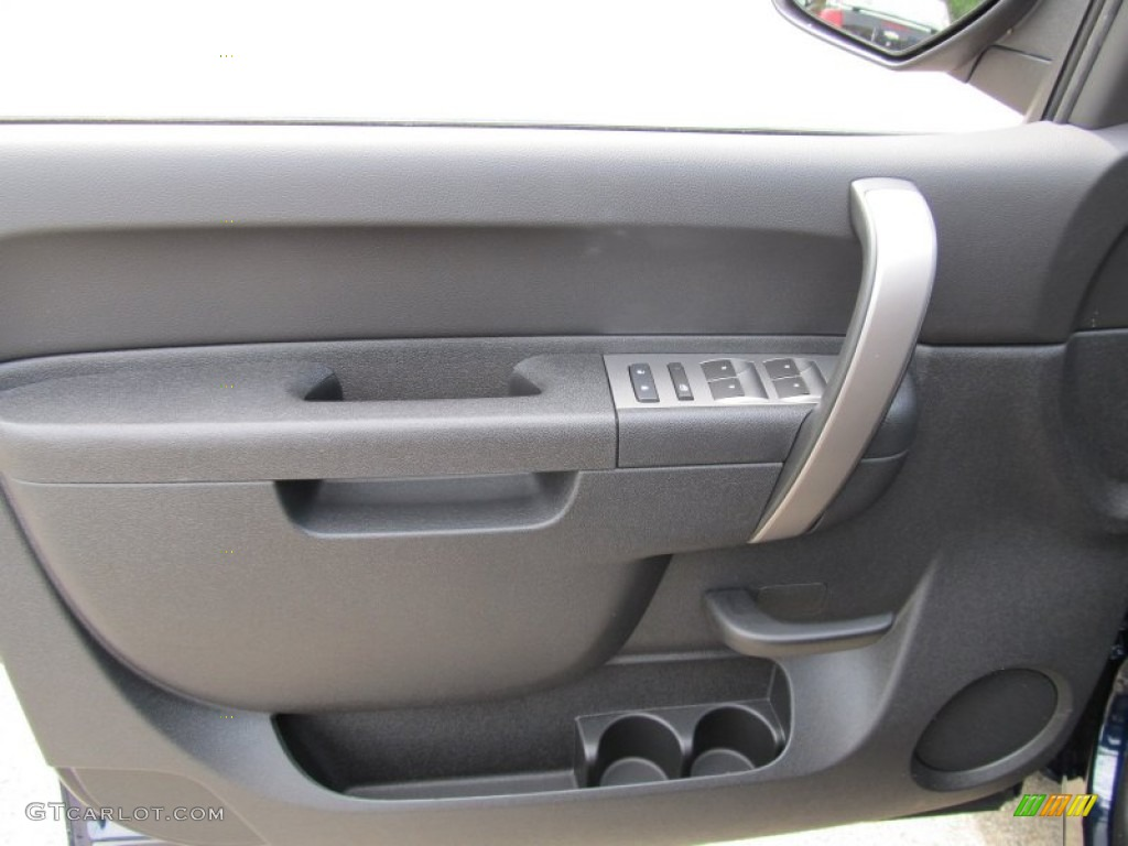 2011 Silverado 1500 LT Extended Cab 4x4 - Imperial Blue Metallic / Light Titanium/Ebony photo #7